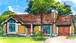 image of The Prairie View House Plan